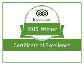 Patsy's 2015 Trip Advisor Winner
