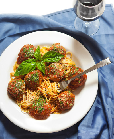 Patsy's Spaghetti and Meatballs